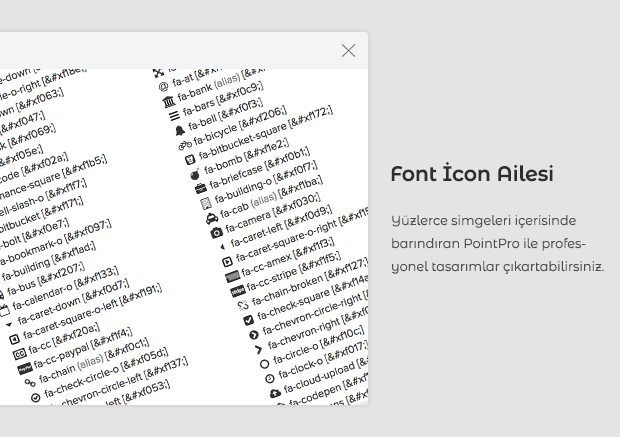28 font awesome icons